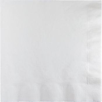 White 2-Ply Paper Lunch Napkins 50ct.