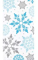 Winter Snowflake Christmas Paper Guest Towels, 16 count