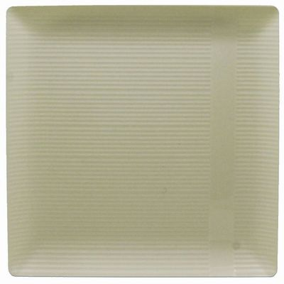 "Zen 9"" Ivory Square Plastic Luncheon Plates *Case of 120*"