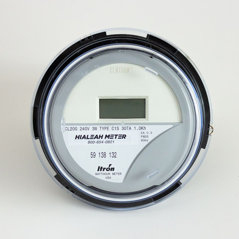 <b>Solid State AC kWh Meter FM 2S CL 200 240V</b>