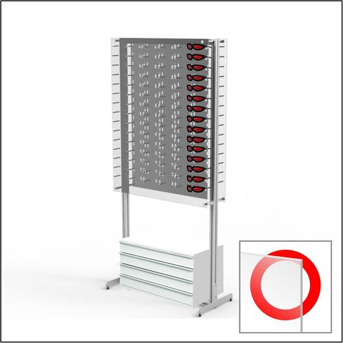 ASIS-DW-31-90 with Cabinet Floorstanding Optical Display