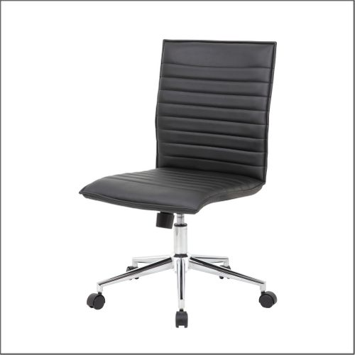 Optical Task Chair in Black