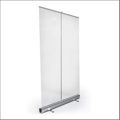 Clear Retractable Portable Sneeze Guard Shield for Desks, Offices and Open Spaces