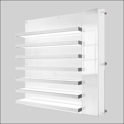 DWL31-105 Top LED  Optical Frame Display Shelves with Mirror
