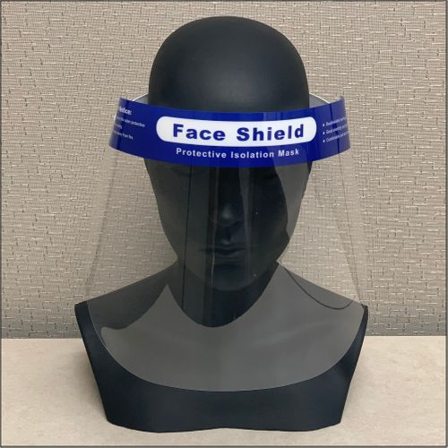 Economical Protective Clear Face Shield - 10pk