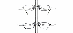 Eyewear Displays - Custom Rods