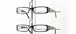 Eyewear Displays - Locking Optical Display Rods