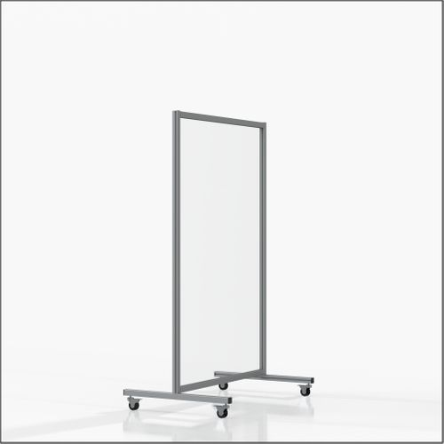 High-End Mobile Floor-Top Guards (FLOOR-9-14) - Size: 35.43x55.12""
