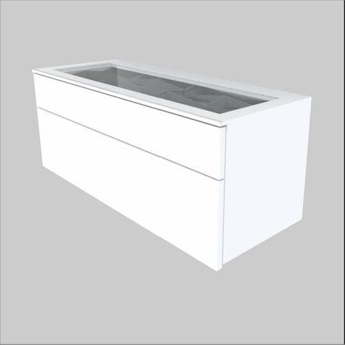 High-Quality European Glass-Top Optical Cabinet - 36.6 inches wide (930 mm)