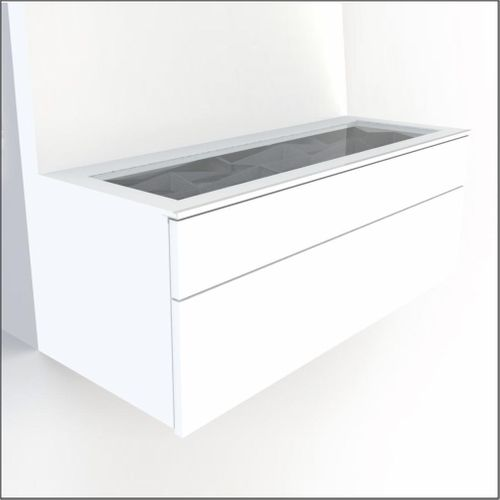 High-Quality European Glass-Top Cabinet