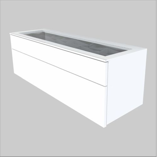 High-Quality European Glass-Top Optical Cabinet - 47.25 inches wide (1200 mm)