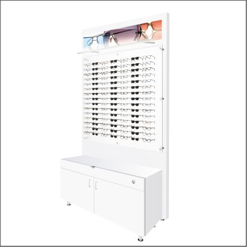 Lit Back Panels with Optional Cabinets - For DW-31-105 Panels