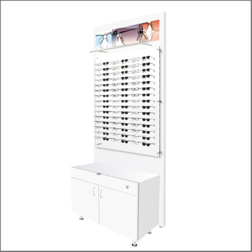 Lit Back Panels with Optional Cabinets - For DW-31-90 Panels