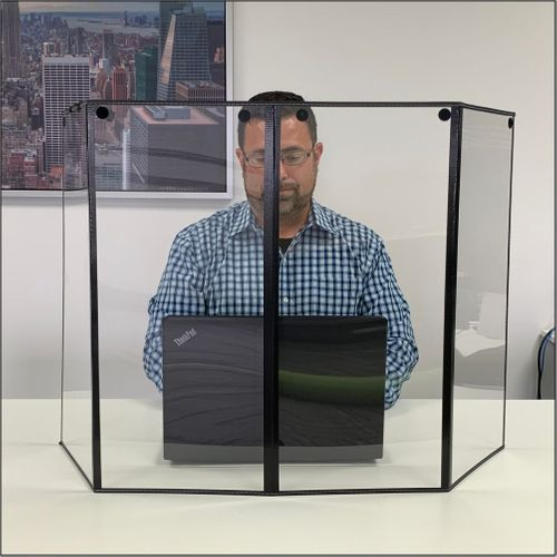 Personal Portable Sneeze Guards