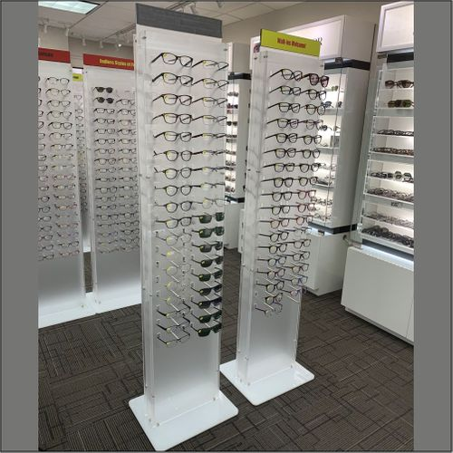 PIN-72 DW Style Floor-standing  Optical Frame  Display Unit
