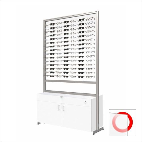 105 Frame Capacity ASIS DW Units with White Cabinet