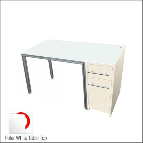 Dispensing  Optical Table With Aluminum Structure, Highrise-Laminated  Cabinet and Computer Station