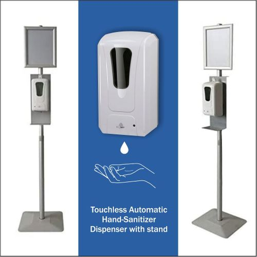 Touchless Automatic Hand-Sanitizer Dispenser with stand