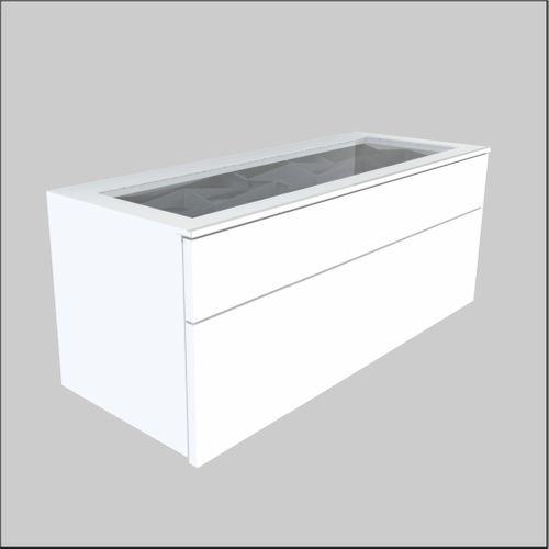 Wall mount Glass-Top Optical Cabinets