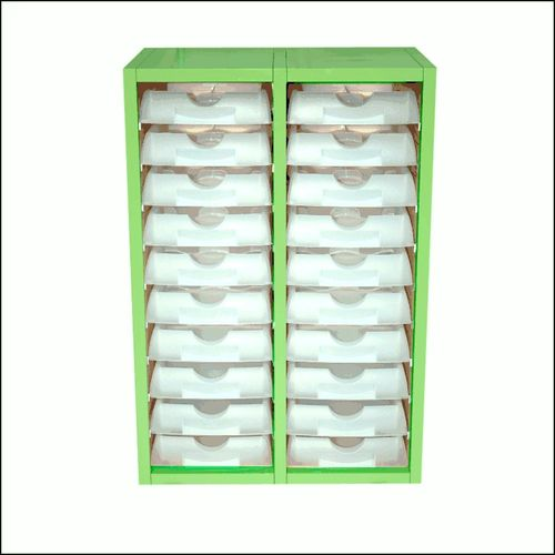 Wall Mount Lab Tray Cabinet