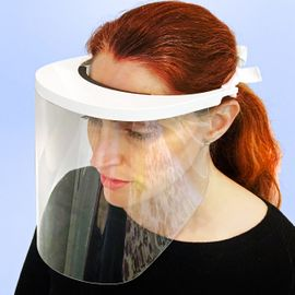 10-PACK PREMIUM FACE SHIELD WITH PERIPHERAL PROTECTION