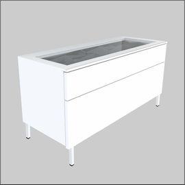Floor-Top Glass-Top  Optical Cabinets � 36.6 inches (930 mm)
