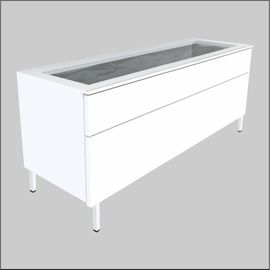 Floor-Top Glass-Top  Optical Cabinets � 47.25 inches (1200 mm)