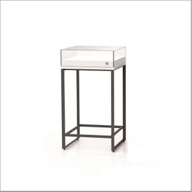 High table EMV 55 with lockable glass showcase top