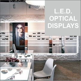 L.E.D. Optical Displays with RESTONLED Lighting