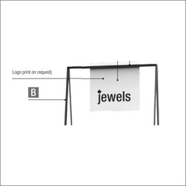 Intermediate panel for LL POP-UP! Watches & jewellery