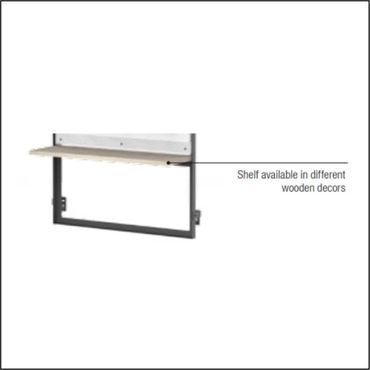 Shelf A for WLL-T 7 for LL WALL BLISTER