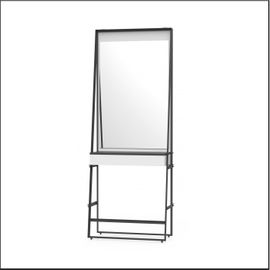 Styling unit for 1 person with 1 mirror