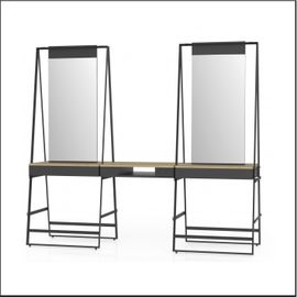 Styling unit free-standing for 4 persons