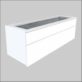 Wall mount Glass-Top  Optical Cabinets � 47.25 inches (1200 mm)