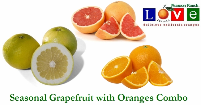 Grapefruit and Orange Combo