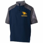 1/4 ZIP SHORT SLEEVE JACKET - ADULT ONLY