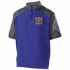 1/4 ZIP SHORT SLEEVE PULLOVER JACKET-ADULT