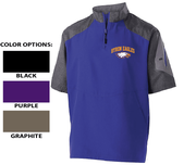 1/4 ZIP SHORT SLEEVE PULLOVER JACKET - ADULT ONLY
