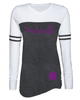 WOMEN'S GAME DAY LONG SLEEVE TEE W / FOIL PRINT