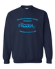 FROZEN JR CREW NECK SWEATSHIRT - YOUTH & ADULT