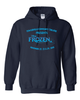 FROZEN JR HOODED SWEATSHIRT - YOUTH & ADULT