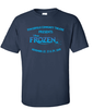 FROZEN JR T-SHIRT - YOUTH  & ADULT