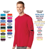 MEN'S PERFORMANCE DRI-FIT LONG SLEEVE TEE - ALIVE LOGO