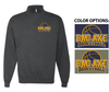 BASIC 1/4 ZIP CREW SWEATSHIRT