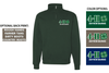 BASIC 1/4 ZIP CREW SWEATSHIRT - ADULT ONLY