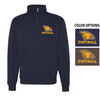 FOOTBALL BASIC 1/4 ZIP CREW SWEATSHIRT - ADULT ONLY