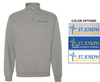 BASIC 1/4 ZIP CREW SWEATSHIRT - ADULT & YOUTH