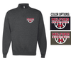 BASIC 1/4 ZIP CREW SWEATSHIRT - ADULT