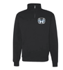 BASIC 1/4 ZIP CREW SWEATSHIRT - YOUTH & ADULT