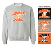 FAN CREW NECK SWEATSHIRT